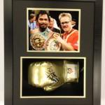 Manny Pacquiao Boxing Glove signed framed