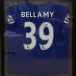 Craig Bellamy Framed Blue Shirt