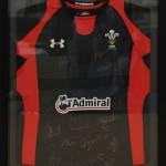 Welsh Rugby Framed Shirt