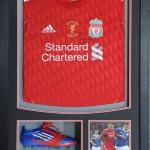 Liverpool Red Top and boots framed